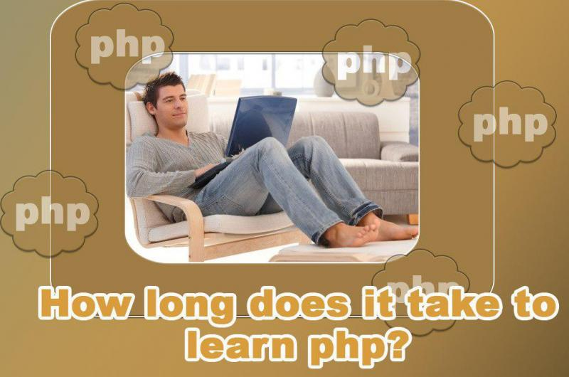 How long does it take to learn php?
